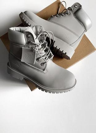 Шикарные женские зимние ботинки timberland 6 inch premium boot...