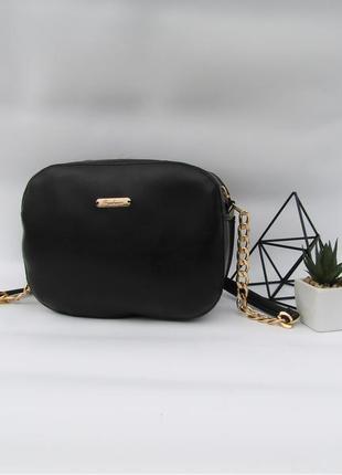 Черный клатч  handmade