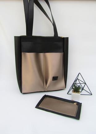 Большая сумка - шоппер handmade