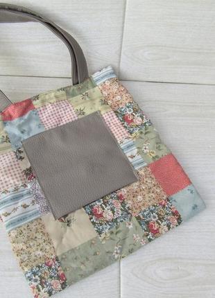 Милая эко сумка handmade