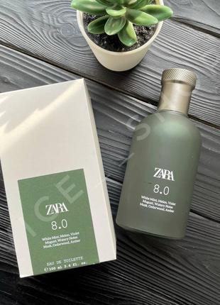 Zara 8.0 100 мл духи парфюмерия туалетная вода оригинал испани...