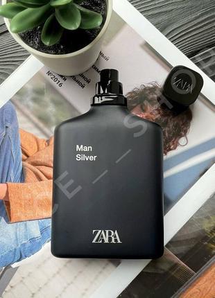 Zara silver 100 мл духи парфюмерия туалетная вода оригинал исп...