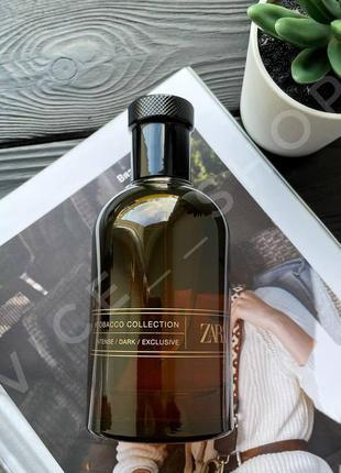 Zara tobacco collection intense dark exclusive 100мл духи парф...