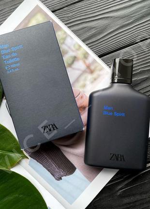 Zara man blue spirit духи парфюмерия туалетная вода оригинал и...