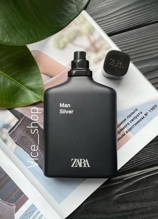 Zara silver духи парфюмерия туалетная вода оригинал испания ку...