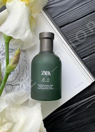 Zara 8.0 духи парфюмерия туалетная вода оригинал испания