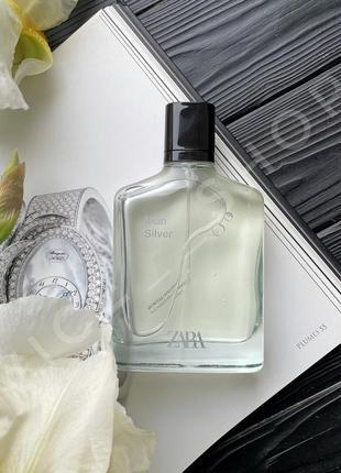 Zara silver духи парфюмерия туалетная вода оригинал испания
