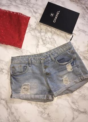 Джинсовые шорты new fashion