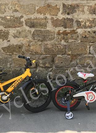 Велосипед Royal baby Bull Dozer 18 детский | BullDozer