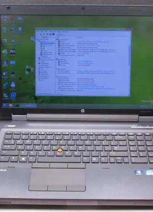 #20-268 Ноутбук HP EliteBook 8770w i5-3320M