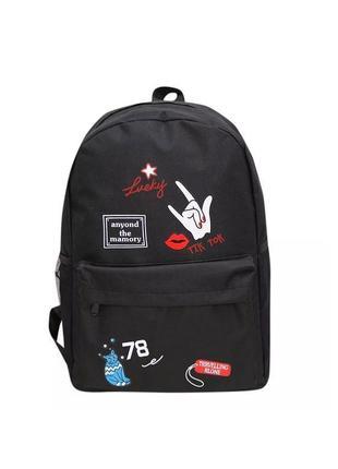 🔥🔥🔥молодежный рюкзак для школы, модный женский подростковый рю...