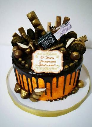 Домашний торт, качественные ингредиенты.