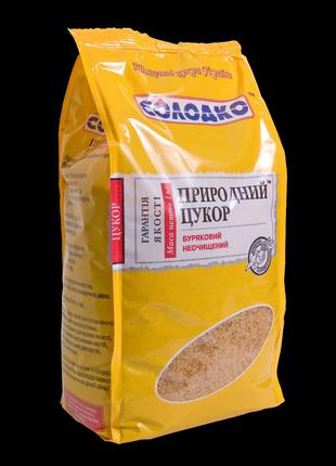 Нерафинированный сахар 1 кг песком