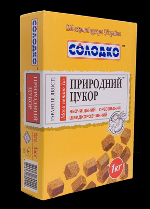 Нерафинированный сахар 1 кг кубиками