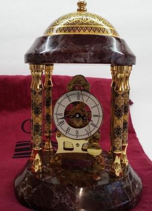 Коллекционные настольные часы michelangelo credan s.a. испания