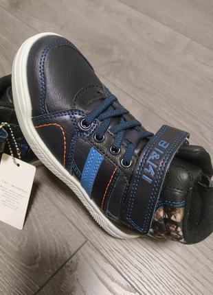 👞 качественные демисезонные утепленные ботинки для мальчиков