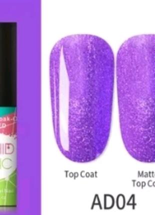 Гель лак фиолетовый нионовый
