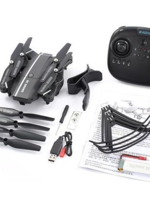 Складной квадрокоптер 8807 c WiFi HD камерой