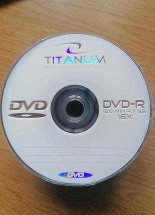 Dvd диски titanium