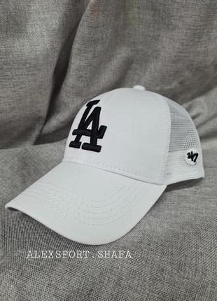 Бейсболка la блайзер кепка унисекс,  белая бейсболка кепка