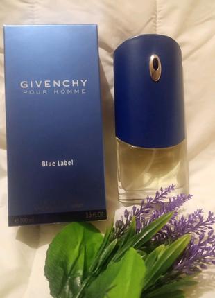 Givenchy Pour Homme blue label,100 мл