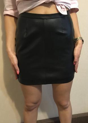 Шкіряна спідниця , юбка -  натуральная кожа
