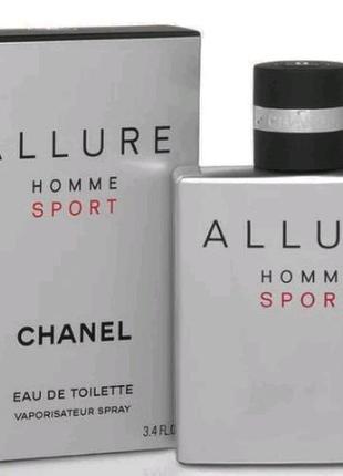 Мужская туалетная вода Allure homme Sport 100ml парфюм духи Шанел