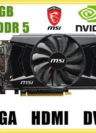 Видеокарта MSI GeForce GTX 750 Ti / 2GB GDDR5 / 128-bit купить