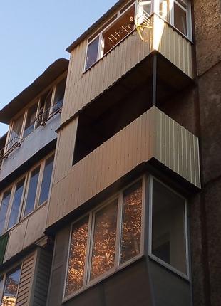 Реконструкция балконов под ключь