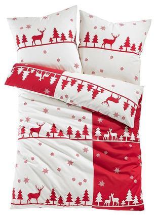 """Постільна  білизна  """" 🎄 новорічна 🎄 """" .  натуральна  тканина"""