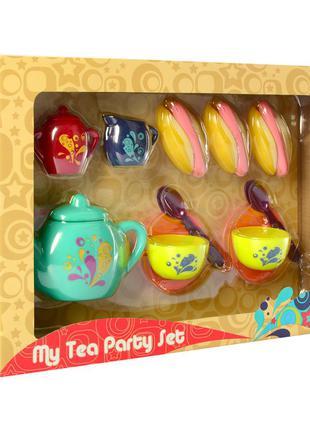 Игрушечная посуда P8321 чайный сервиз на 2персоны