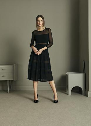 Стильное дизайнерское платье с сеткой bitte kai rand дания