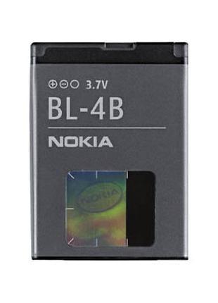 Аккумуляторная батарея (АКБ) для Nokia BL-4B, 700 мАч