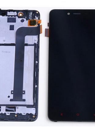 Дисплей (экран) для Xiaomi Redmi NOTE 2 ксиоми + тачскрин с пе...