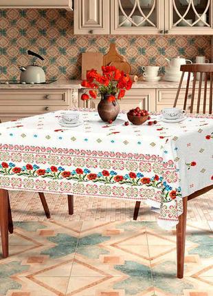 Скатерть для стола «маки»