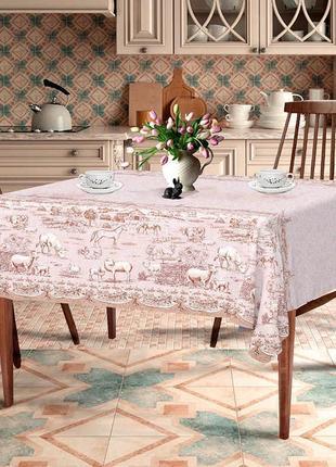 Скатерть для стола «деревенька»