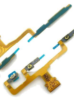 Шлейф для Sony C6502 L35h Xperia ZL, C6503, C6506, с кнопкой в...
