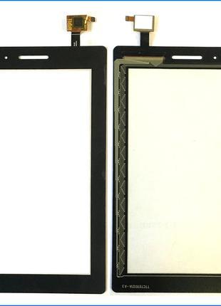 Тачскрин (сенсор) для Lenovo TB3-710F Tab 3 Wi-Fi , черный