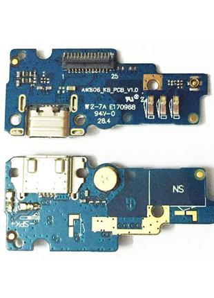 Разьем зарядки Asus Zenfone Go (ZC500TG) с нижней платой