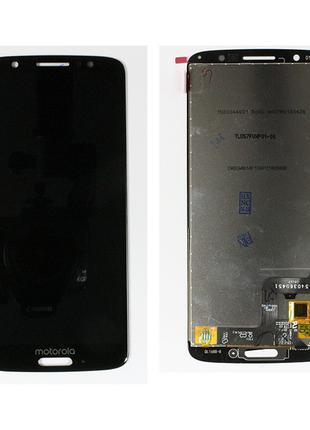 Дисплей (экран) для Motorola XT1925 Moto G6 + тачскрин, черный