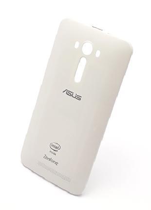 Задняя крышка для Asus ZenFone 2 Laser (ZE550KL), белая