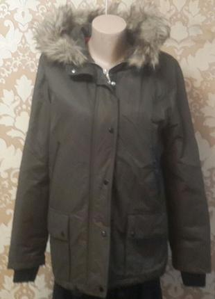 Распродажа! Куртка женская Mango, цвет хаки, размер S.