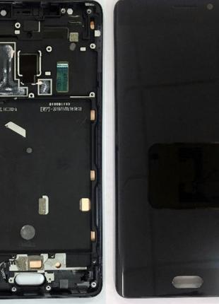 Дисплей (экран) для Xiaomi Mi Note 2 + тачскрин, черный, с пер...