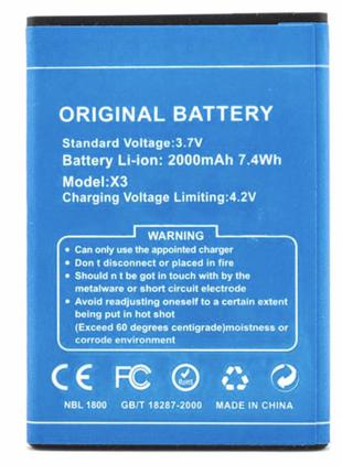 Аккумуляторная батарея (АКБ) для DOOGEE X3