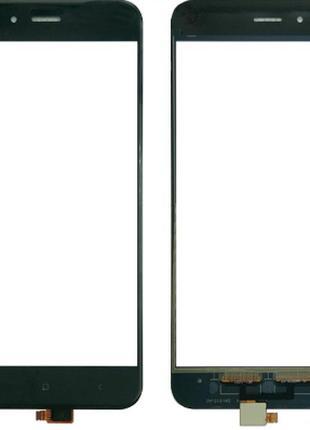 Тачскрин (сенсор) для Xiaomi Mi A1/Mi 5X, черный
