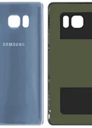 Задняя крышка для Samsung N930F Galaxy Note 7, синяя, Blue Cor...