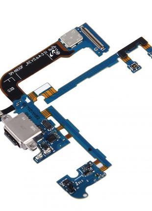 Шлейф для Samsung N930F Galaxy Note 7, с разъемом зарядки, с м...