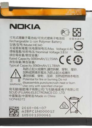 Аккумуляторная батарея (АКБ) для Nokia HE340 (Nokia 7), 3060 mAh