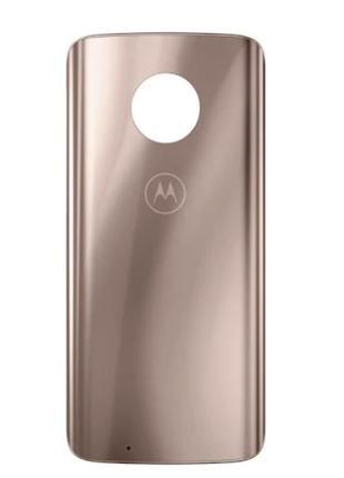 Задняя крышка Motorola XT1925 Moto G6, розовая, Blush, оригина...