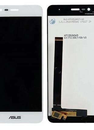 Дисплей (экран) для Asus ZenFone Pegasus 3 X008 + тачскрин, белый